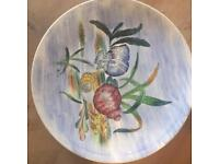 seaside vintage shell plates