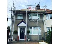 Professional scaffolding company, FREE hire, towers, scaffolding access, temporary roof, scaffolder