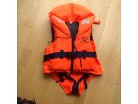 Childs life jacket 10-15kg