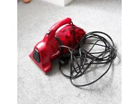 Dirt Devil mains hand held vacuum with tools and instructions. Ideal for caravan/motorhome.
