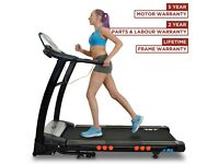 Treadmill digital gym size in excellent condition and foldable