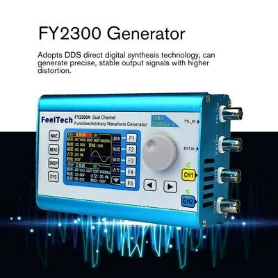 Feeltech Fy-2300 Dual Channel Dds Arbitrary Waveform Signal Generator 200msas