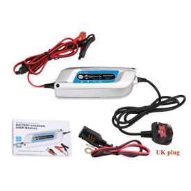 Car Battery Charger 12V 5A Automatic and Smart 8-Stage Battery Charger and Maintainer for Cars