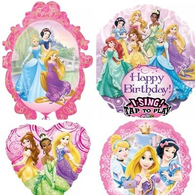 XL Folienballon Prinzessin Prinzessinnen Rapunzel Kindergeburtstag Luftballon