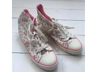 Cath Kidston canvas shoes/boots