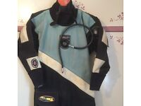 northern diver dry suit in good condition