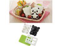 4pcs Set Panda Sushi Mold- Sushi Maker Bento Accessories