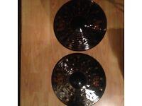 "Meinl 14"" Hi hats -Classic Custom Dark"