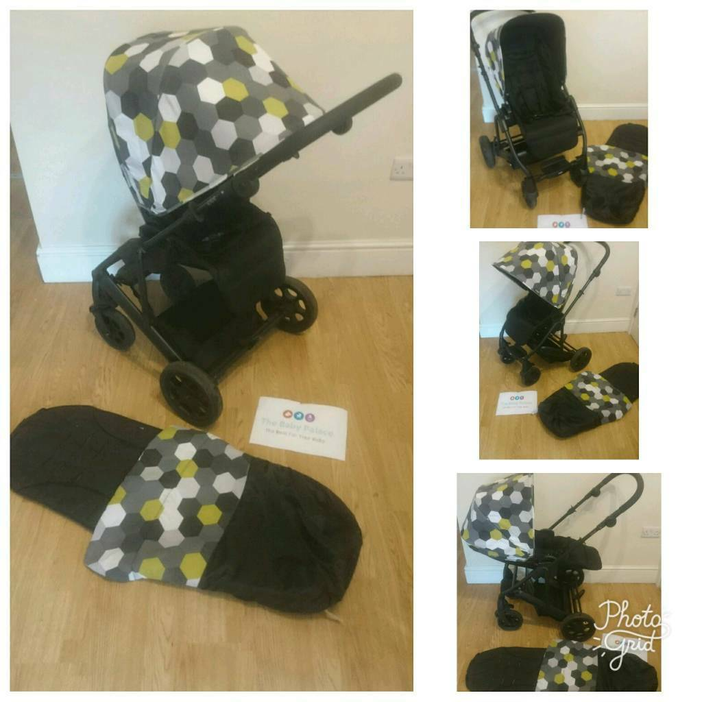 Mamas and papas pixo immaculate condition with footmuff