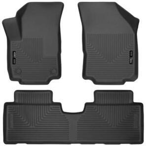 Husky Liner Floor Liners for 2018-2019 Chevrolet Equinox | Free Shipping | Order Today at motorwise.ca