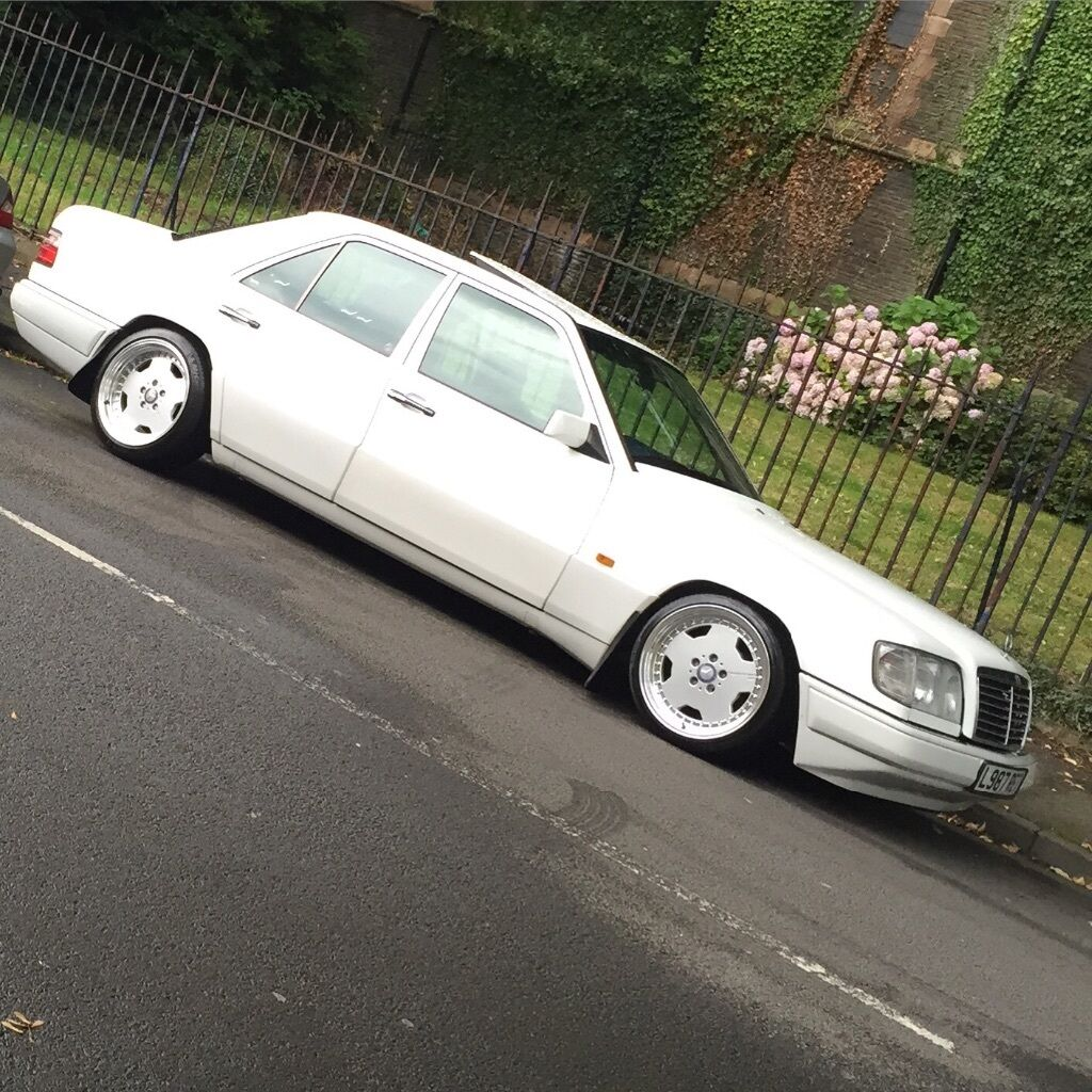 Mercedes Benz E280 W124 Slammed Amg Lowered Euro In Grangetown Fuse Box