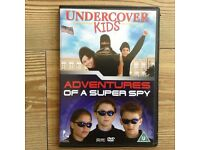 Undercover kids & Adventures of a super spy DVDs