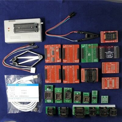 Xgecu Tl866ii Plus Programmer For Spi Flash Nand Eeprom Mcu Avr23 Adaptersclip