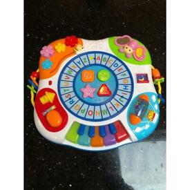 Baby to toddler activity table