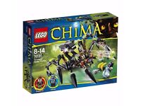 LEGO Chima 70130: Sparratus' Spider Stalker. Brand new and unopened