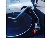 Hacker Stacking Dansette style Record Player - Retro Vintage Vinyl Turntable