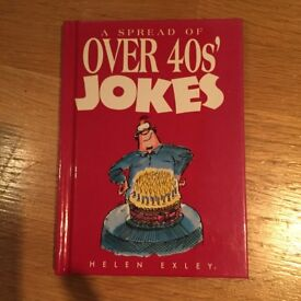 NEW Over 40's Jokes book