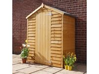 3 x 5 Wooden Shed