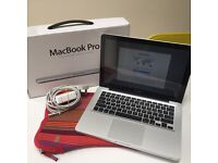 """Apple Macbook Pro 13.3"""" VGC, selling boxed with charger and laptop sleeve included"""