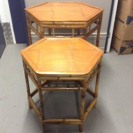 Chinese Bamboo Table set