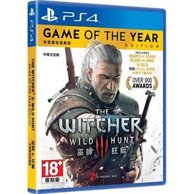 Witcher 3 Game of the Year - PS4 - Immaculate Condition