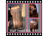 HAIRDRESSER services at mobile prices FREE CUTS with every H/L near Ilford Barking Redbridge Dagenh