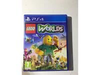 Lego worlds for the PlayStation 4