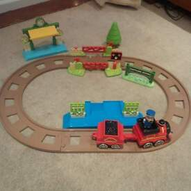 early learning centre train track