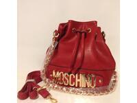Brand New Women's Red Moschino Bag