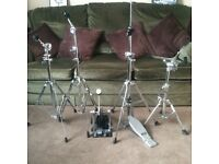 PREMIER DRUMKIT HARDWARE : PREMIER OLYMPIC BASS DRUM PEDALS & more : Prices £15-£30