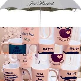 Personalised items