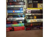 HORROR books for sale