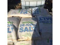 Rock salt 25kg / pllts