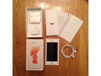 iPhone 6S EE Rose Gold boxed with accessories