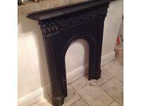 Victorian cast iron surround perfect condition