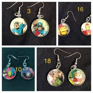 Handmade earrings and necklaces