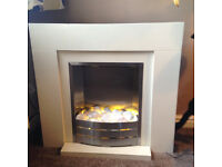 electric fan fire and surround