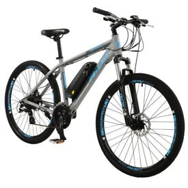 """Spark Mens 27.5"""" Wheel Electric Mountain Bike with 21 Speed shimano Gears"""