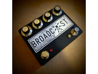 Hudson Electronics Custom Broadcast - Limited Edition Pre-amp, Boost, Overdrive Pedal (Brand New)