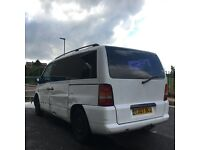 Mercedes Vito v class 220 ambiente with tv and dvd