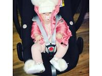 Moncler baby size 3-6 months