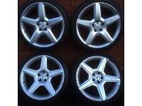 """Mercedes Benz 447 amg style 19"""" split width alloy wheels & tyres vw seat skoda Audi C E Class alloys"""