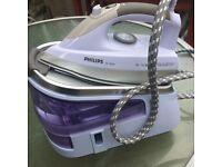 Philips GC8261 Peessurised Ironing System, Steam Generator Iron 5 Bar Pressure Spares or Repairs