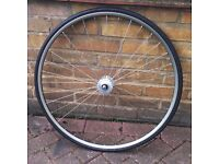 Nisi Mixer 700c Professionally built front track wheel £85