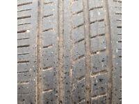 Pirelli zero rosso part worn tyres