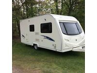 2009 model Avondale Argente 480/2 berth caravan . Motor Mover plus extras must see Bargain.