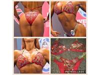 Ladies Bodybuilding fitness figure bikie