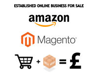 Amazon & Magento website online Business For Sale - Established & Running - Profit from day 1