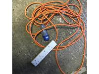 Camping electric hook up Bristol