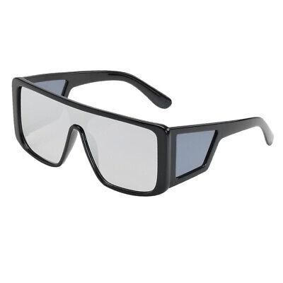 Retro Oversized Sonnenbrille Kunststoff Rahmen Brille für Männer Frauen